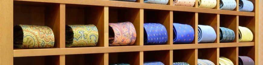 Cravatte di seta (8 cm)